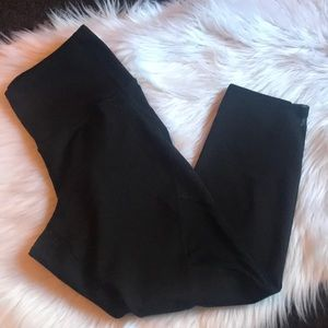 Old Navy Yoga Capris with Sheer Panels